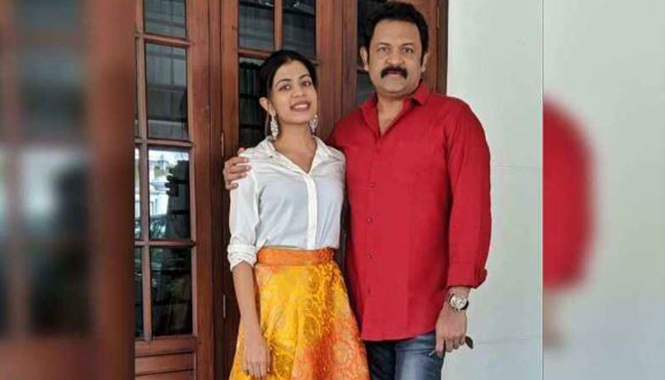 Actor Krishnakumar wishes daughter Diya on her birthday