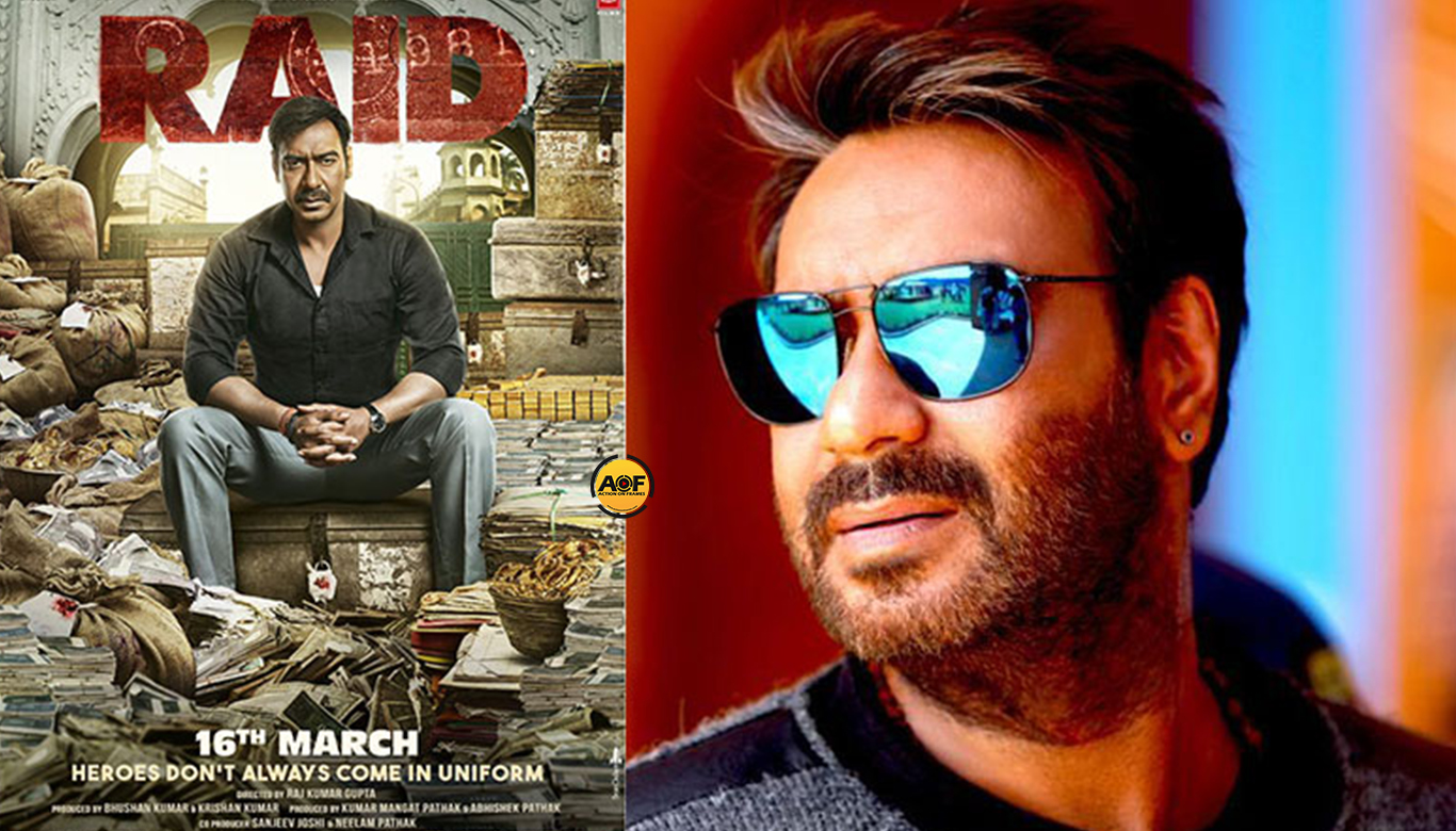 Ajay Devgan next 'Raid' trailer out!