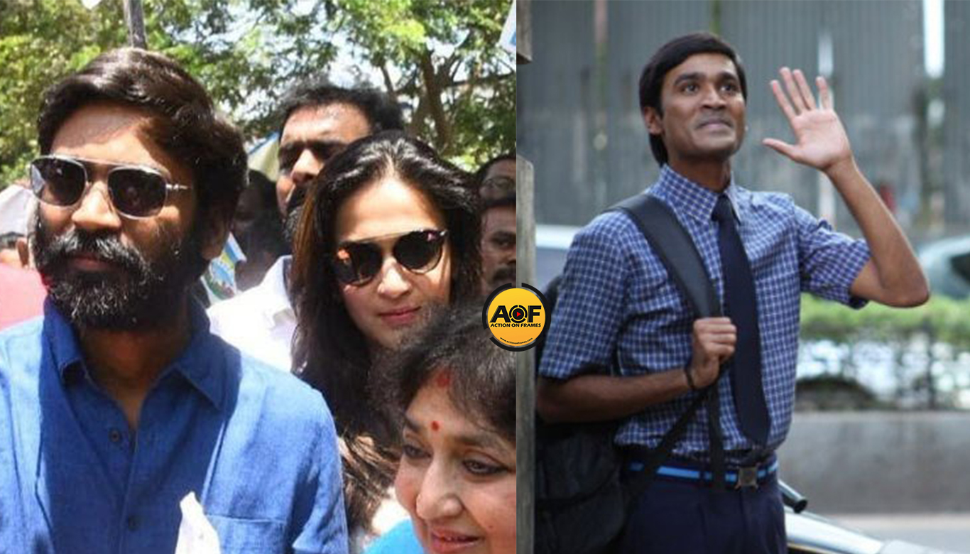 Dhanush and family join the rally against child abuse