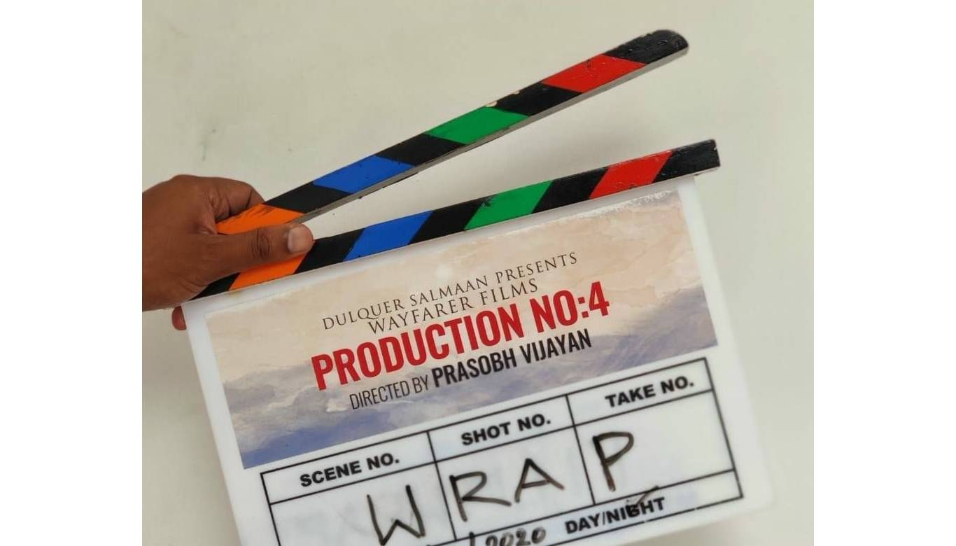 Dulquer Salmaan wraps up his fourth as a producer