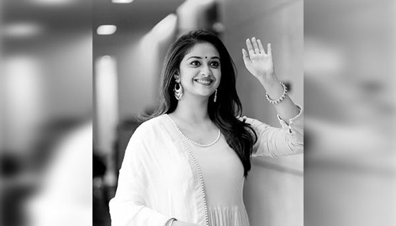 Keerthy recommends Surya Namaskar to her followers