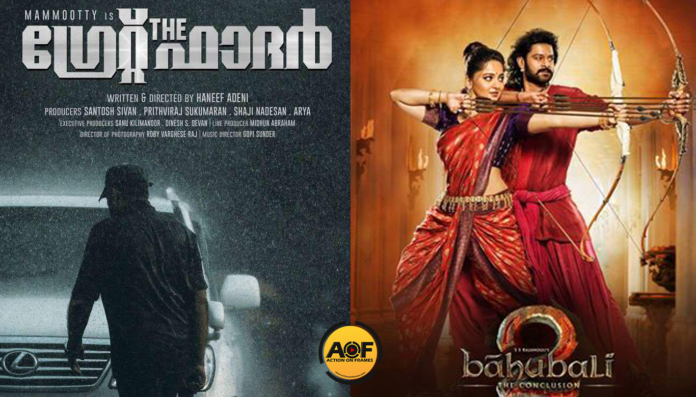Mammootty's The Greath Father Breaks Bahubali 2 Records In Youtube