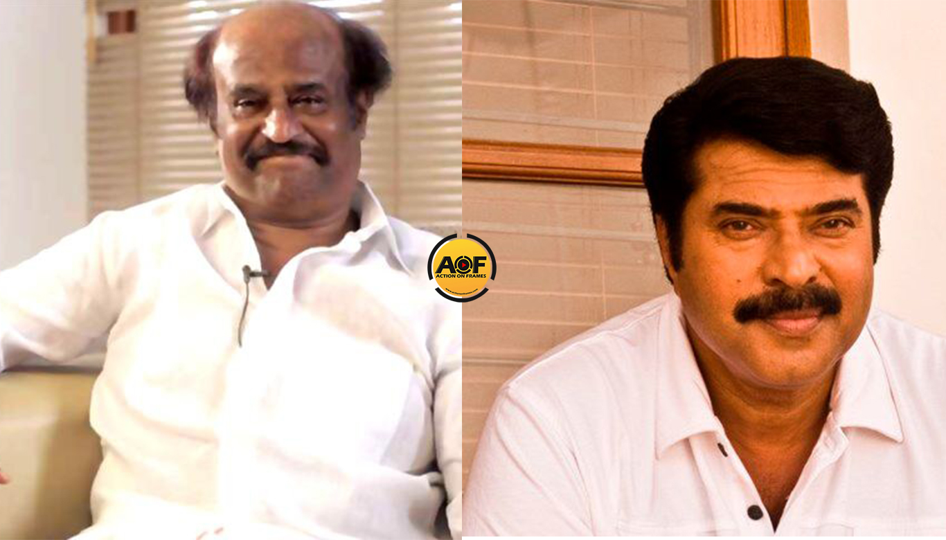 Megastar Mammootty to join Rajani again
