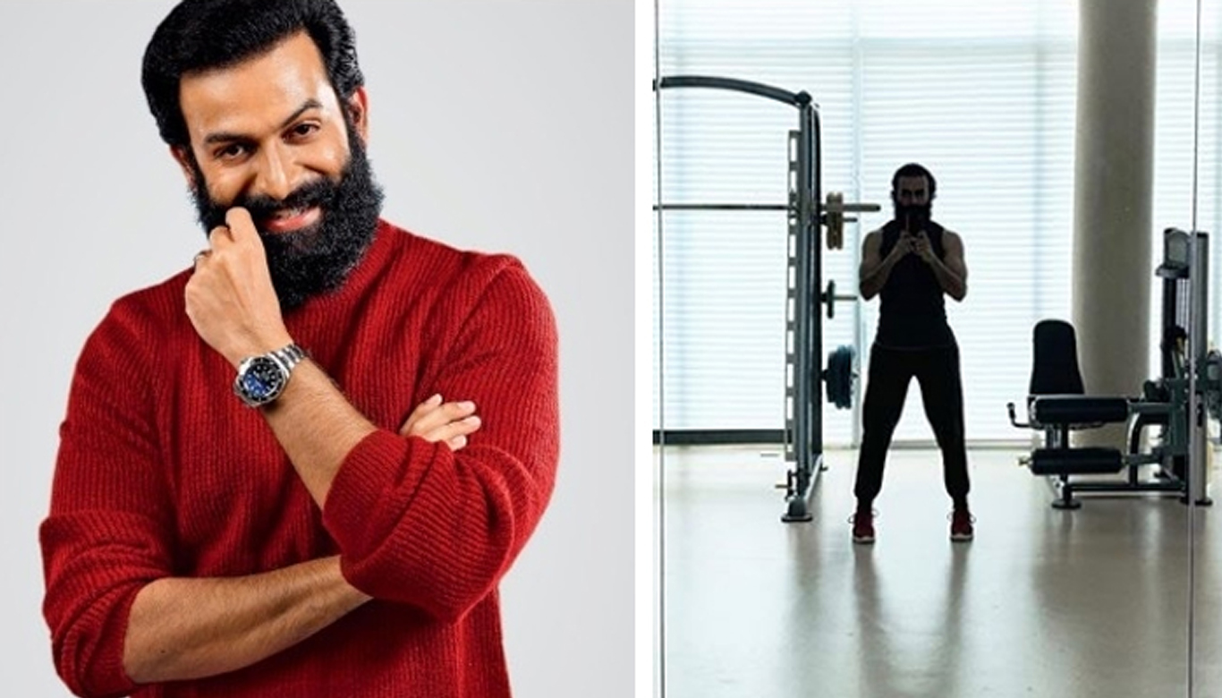Prithviraj is ready to restore his physical health