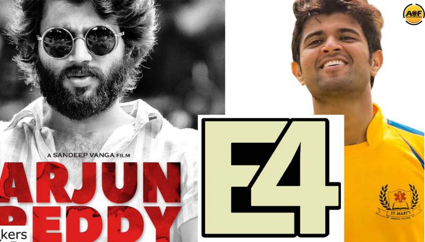 Production House 'E4 Entertainment' Bags The Remake Rights Of Telugu Cult-Classic 'Arjun Reddy'