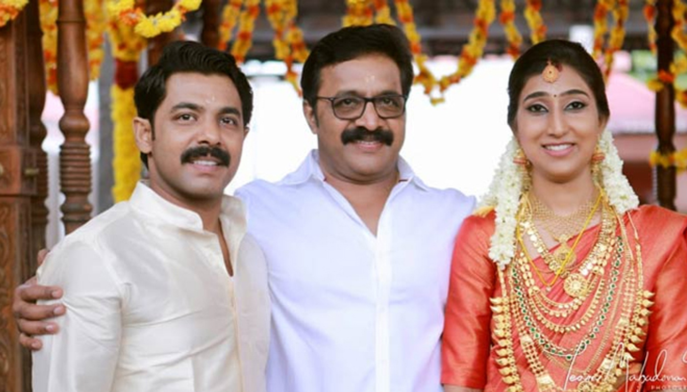 Ranji Panicker's son Nikhil got married
