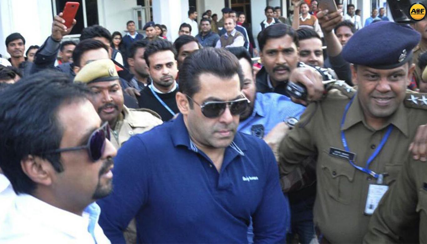 Salman Khan Appears Before Jodhpur Court For His Hearing In Arms Act Case