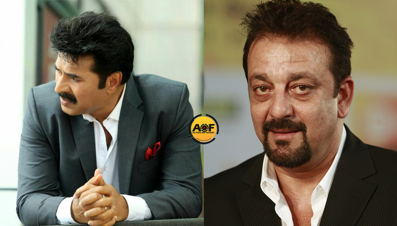 Sanjay Dutt plays mammootty role in the bollywood remake of this movie