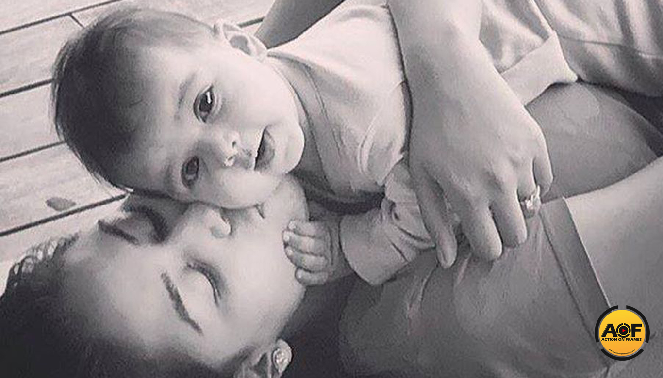 Shahid kapoor shares his daughter photo