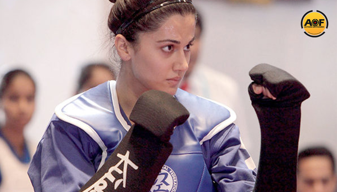 Taapsee Pannu is eager to teach Kudo to women after training for Naam Shabana