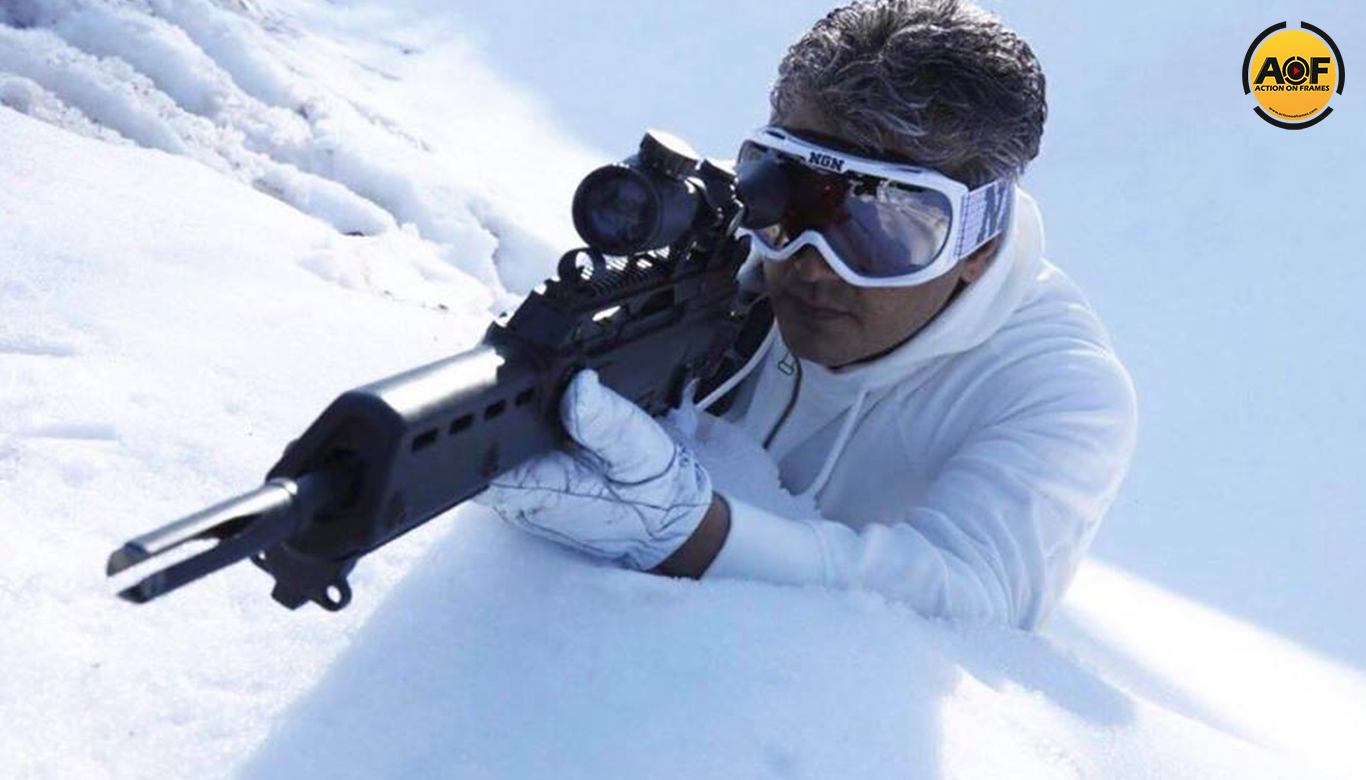 Thala Ajith new look Poster Vivegam goes  viral