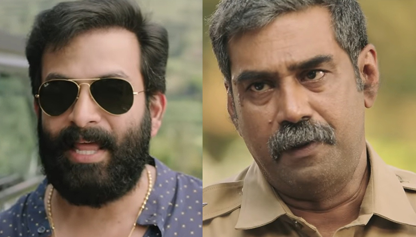 These are my heroes, Prithviraj could not stop laughing at the name of Biju Menon's hero