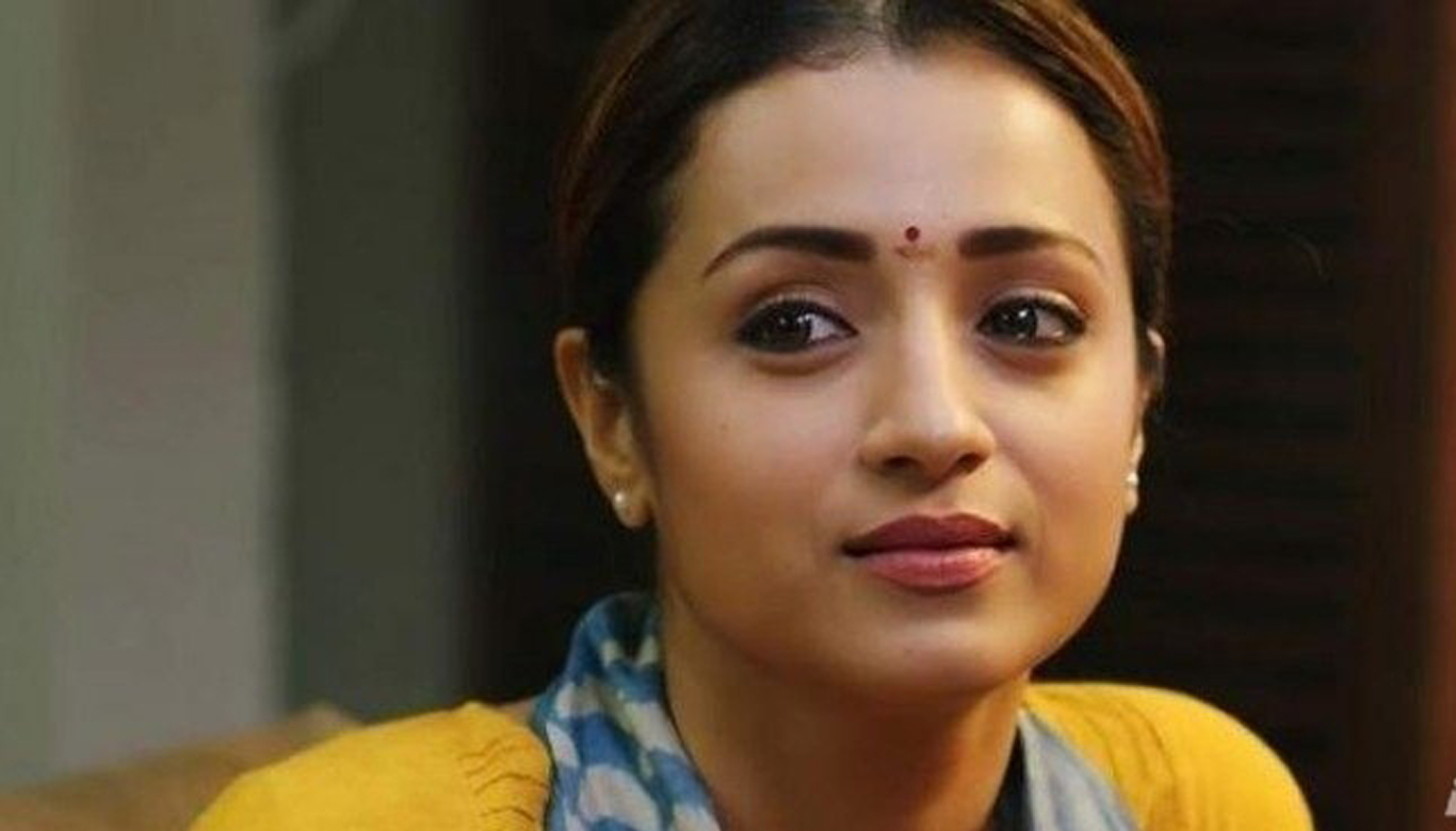 Trisha opens up about affection and her relationship status