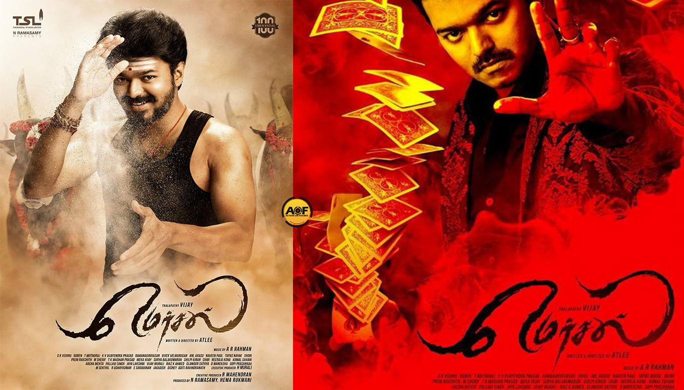 Vijay 61 Gets The Title Mersal! Mersal Looks Like An Aggressive Jallikattu Bull!