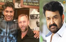 Hollywood StuntMaster Lee Whittaker in Mohanlal's  Randamoozham