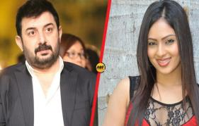 Arvind Swamy gets Puli heroine for cameo