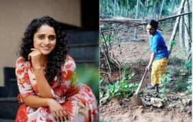 Back to the roots: Surabhi Lakshmi is a busy farmer and cleaner
