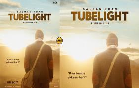 Here is the first look poster of Salman khan Tubelight