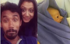 It's a baby boy for Midhun Manuel Thomas