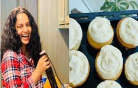 Kangana Ranaut channels her chef inside and prepares tasty cupcakes in the lockdown