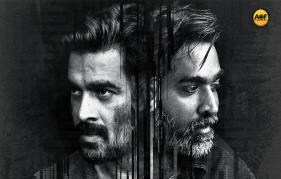 Madhavan-Vijay Sethupathi's Vikram Vedha Movie First Look