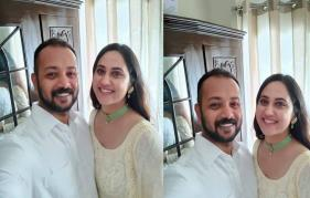 Miya George Engagment pictures are viral