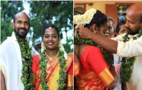 Mollywood entertainer Gokulan gets hitched to Dhanya