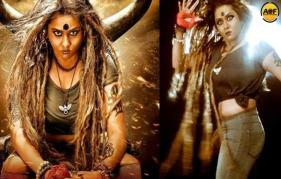 Namitha plays a witch in Pottu