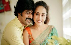 Pearle and Srinish's first wedding anniversary celebration