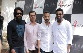 Prabhas Salaar launched; Yash, Rajamouli attend