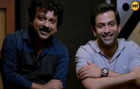 Prithviraj sukumaran  turns playback singer yet again for Adam Joan