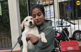 Priyamanis crush on a canine in Coonoor
