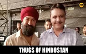 REVEALED! Aamir Khan's bearded LOOK with a red turban from the sets of Thugs Of Hindostan!