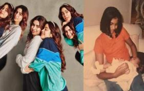 Sonam Kapoor, Khushi Kapoor wish sister Janhvi Kapoor with adorable throwback posts