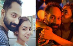 The first thing I did when I got to the set was to see if she was looking at me: Fahadh tells the story of his love affair with Nazriya