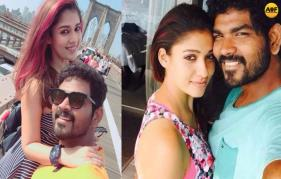 Vignesh Shivan  celebrates birthday with Nayanthara in New York