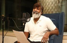 Vijay Sethupathi Starts Dubbing For His Next Outing Laabam!