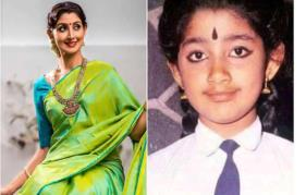 We can not skip the childhood image of Divya Unni from the set of 'Pookkalam Varavayi'