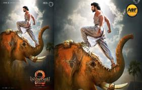 Wow bahubali team Release special motion poster for sivarathri